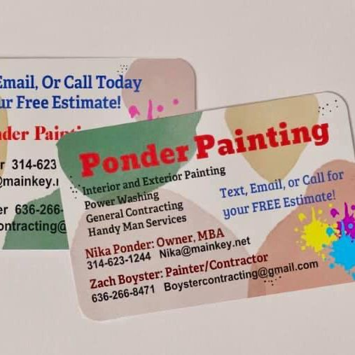Ponder Painting LLC