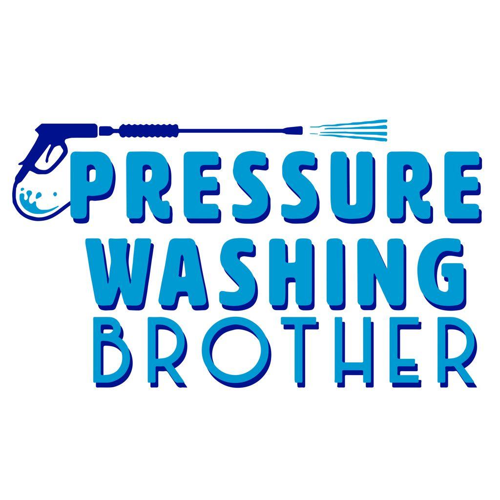 Brothers pressure washing