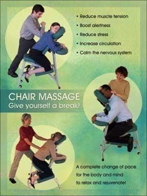 Let's take a 15 minute massage break!