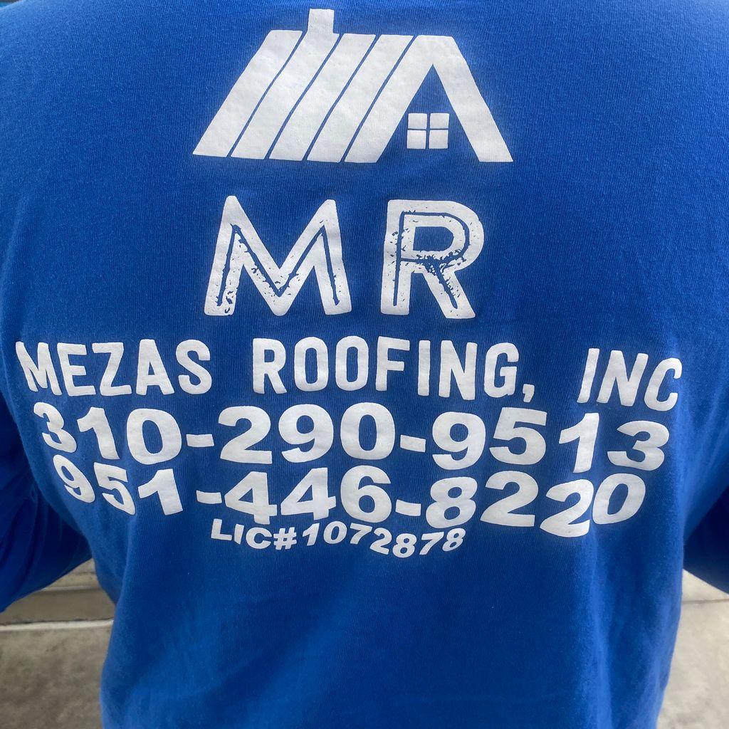 Meza's roofing inc.