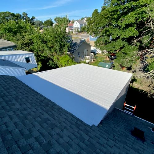 This new peel & stick roof was installed in early July of 2021.