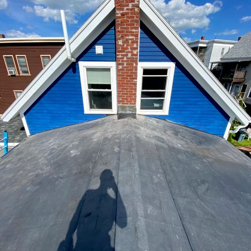 Rubber roof: Winthrop, MA