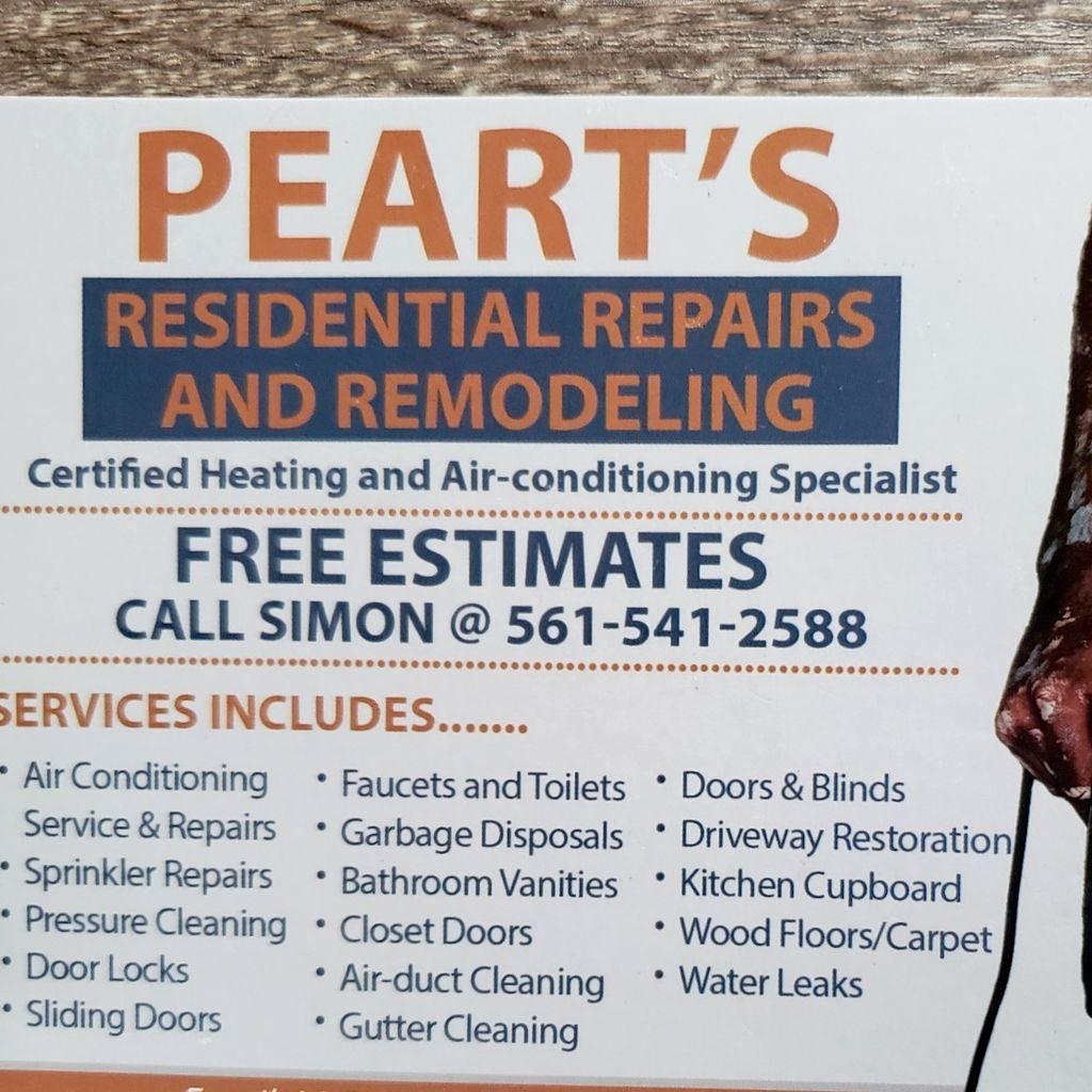 Peart's Residential Repairs