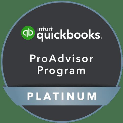 Platinum QuickBooks ProAdvisor