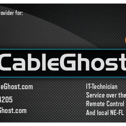 CableGhost Tech services