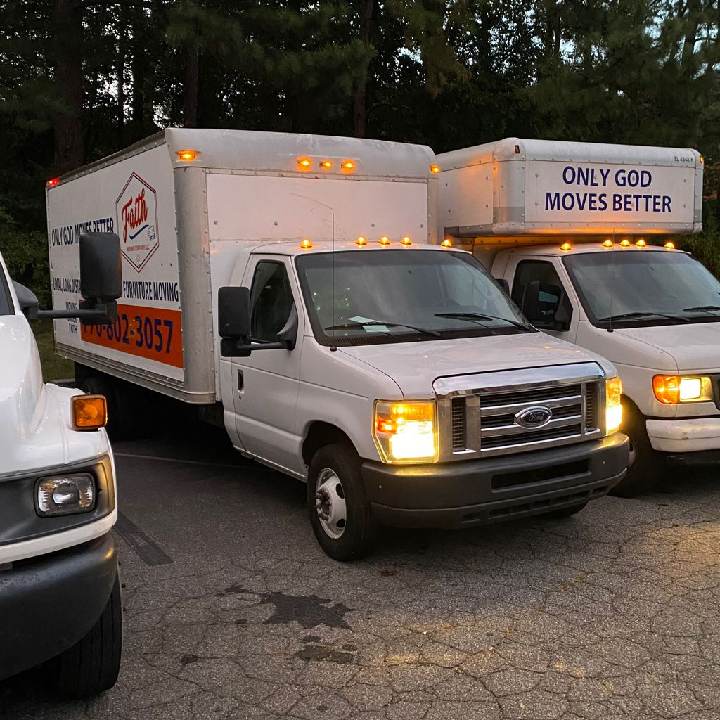 Faith Moving Co.& Storage (Only God moves better)