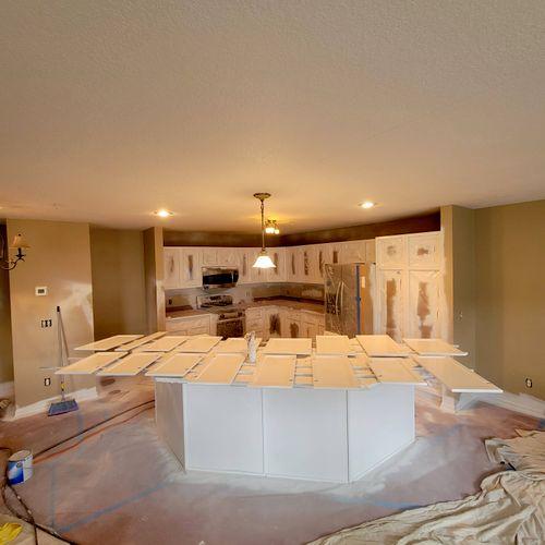 Kitchen Cabinets (preparation)