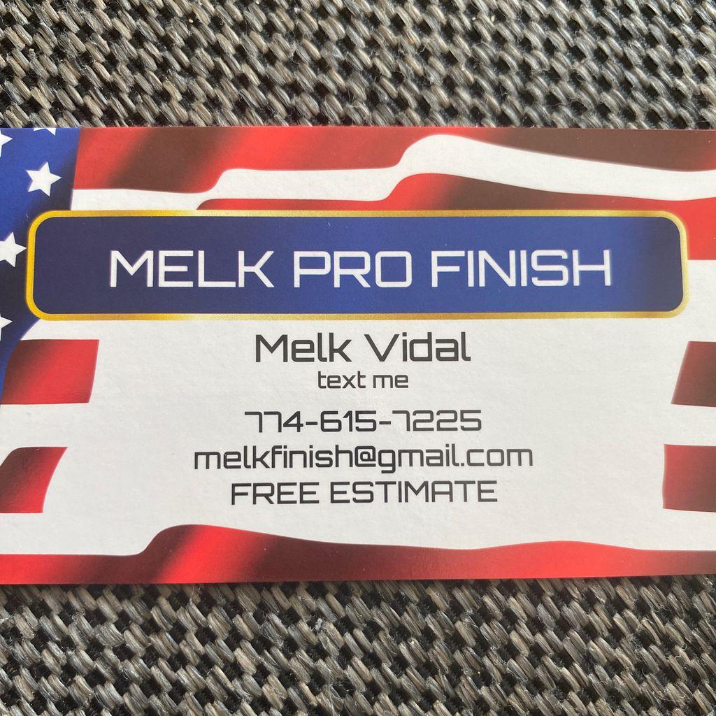 Melk Pro Finish
