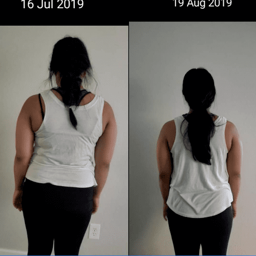 one month results
