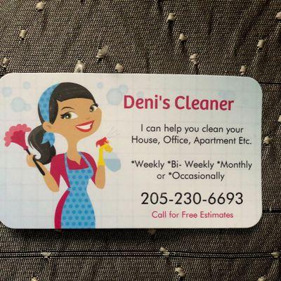 Avatar for Deni's Cleaner