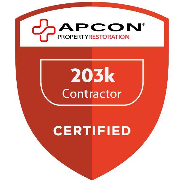 203k Certified Contractor