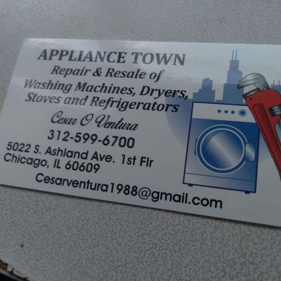 Avatar for APPLIANCE- TOWN SALES AND REPAIR