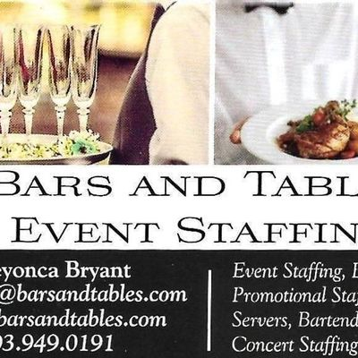 Avatar for Bars and Tables Event Staffing Services