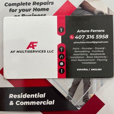 Avatar for AF MULTISERVICES LLC