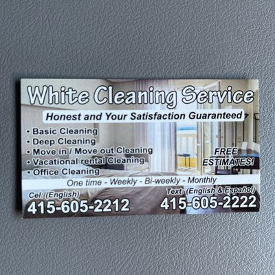 Avatar for White cleaning