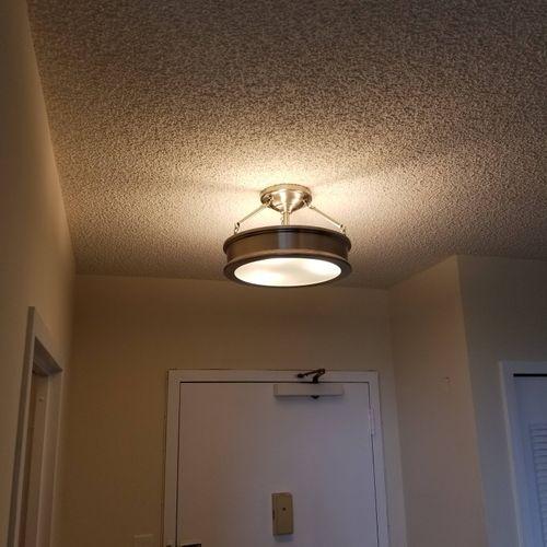 Light fixture replacement