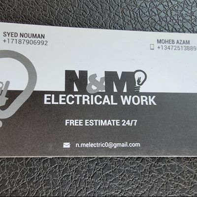 Avatar for N&M ELECTRICAL WORKS
