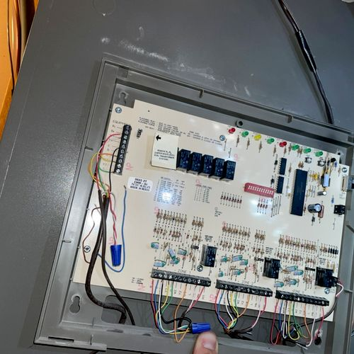 Old zone board