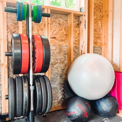 We have an assortment of equipment to increase strength as individual progress continues.
