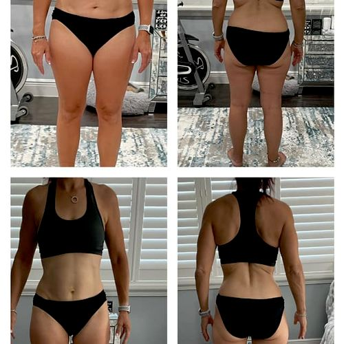 6-week transformation! Read the review:) #carblover #foodfreedom