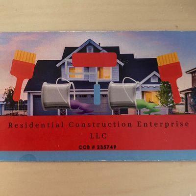 Avatar for Residential Construction Enterprise LLC