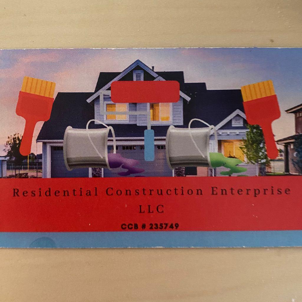 Residential Construction Enterprise LLC