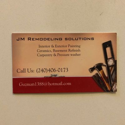 Avatar for JD REMODELING SOLUTIONS