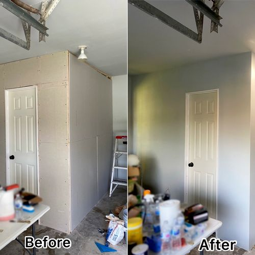 Drywall, Tape and Float and Painting