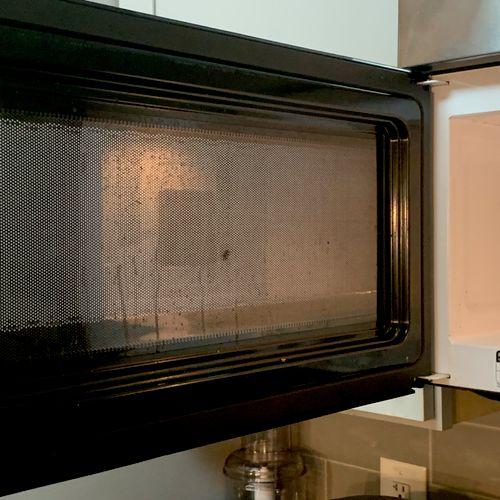 Microwave Before