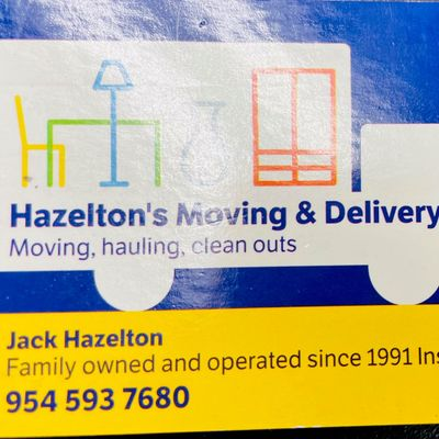 Avatar for Hazelton's Moving & Delivery