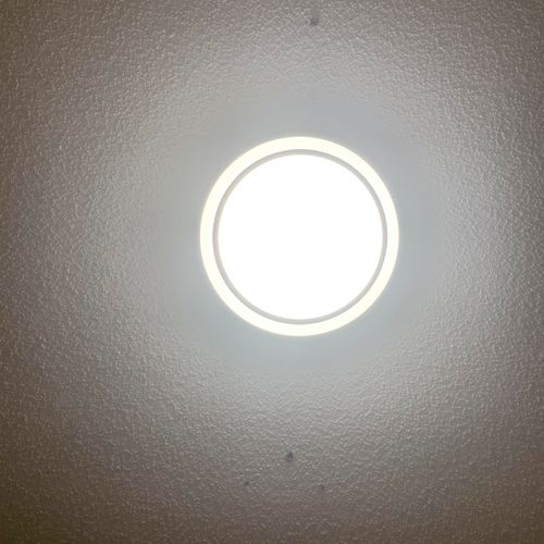 After installation of new Lighting fixture