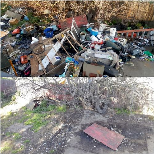 One of our large real estate clean outs 1× 30 yard , 2x 40 yard dumpsters needed.