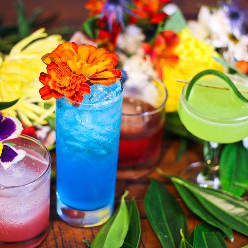 Custom Cocktail Menu Example