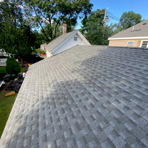 Full roof replacement in Danvers, MA