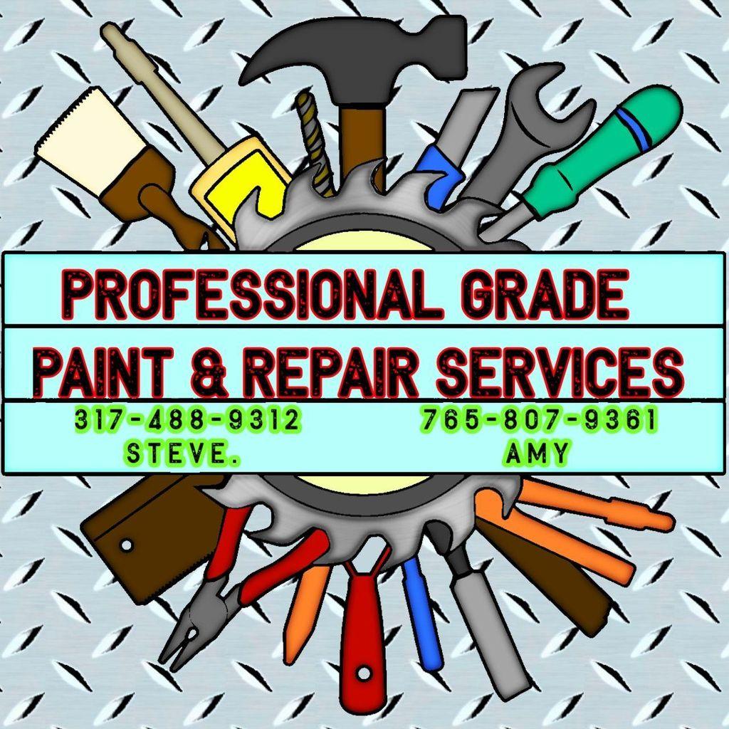 Professional Grade Paint & Repair Services