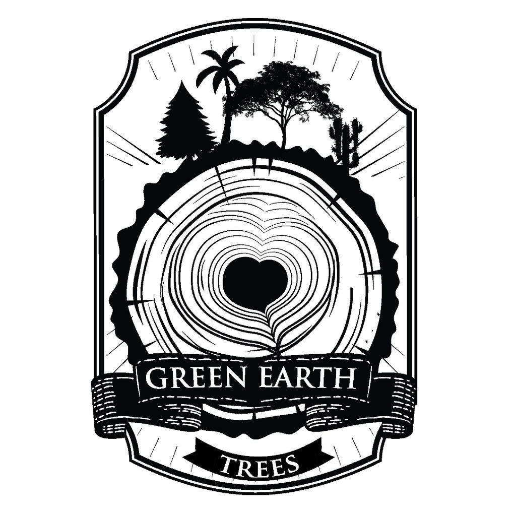 Green Earth Trees