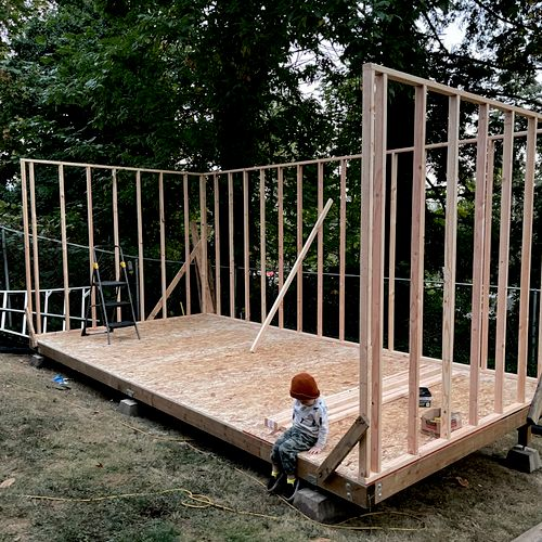 Camas WA 10x20 storage building 9/20/21