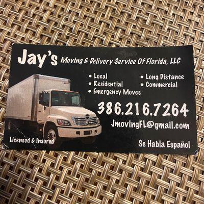 Avatar for Jays Moving