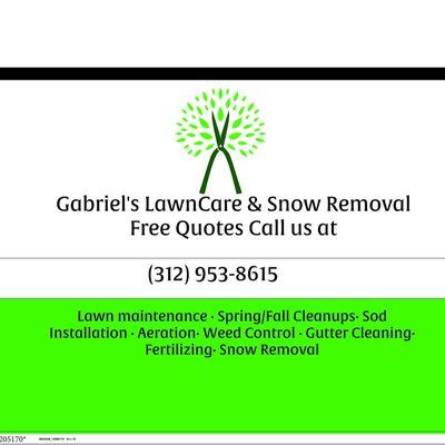 Avatar for Gabriel's Lawn Care & Snow removal