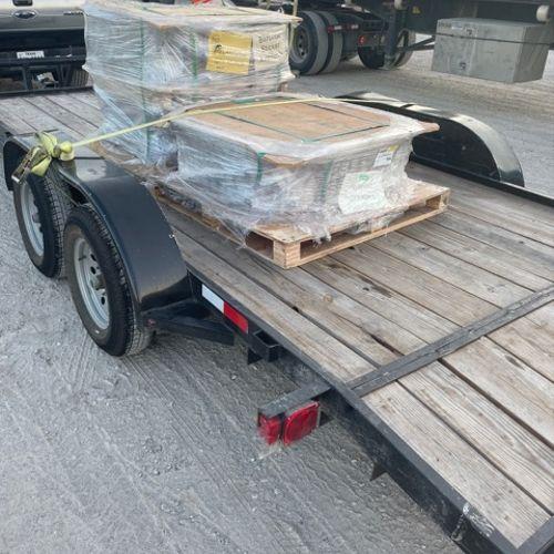 18ft trailer pallet load hauls
