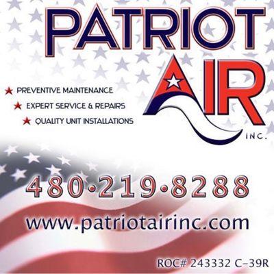 Avatar for Patriot Air, Inc.