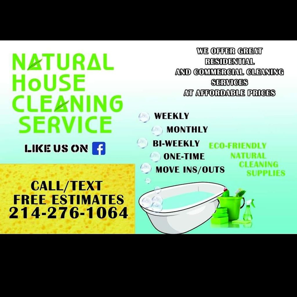 Natural House Cleaning Services
