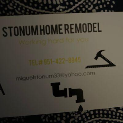 Avatar for Stonum's Home Remodel/Repair