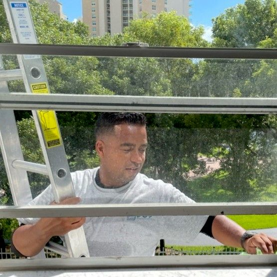 J&J window cleaning services