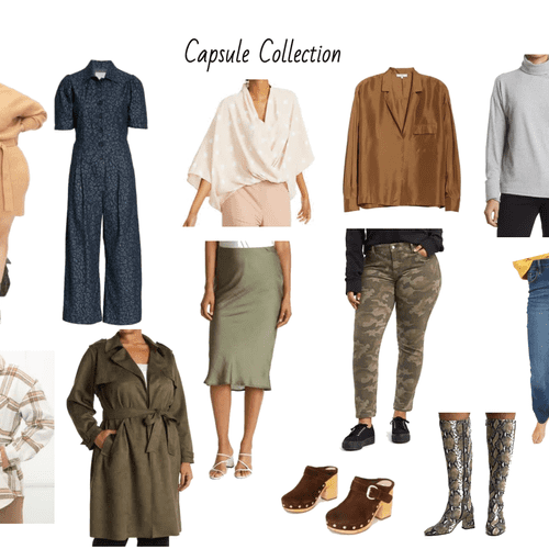 I offer capsule collections as well
