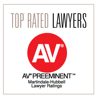 Rated AV Preeminent by Martindale-Hubbell