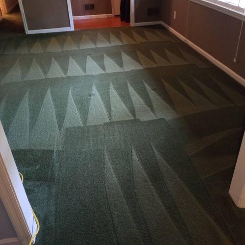 residential deep clean and carpet clean