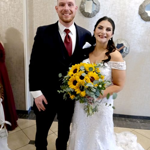 Congratulations To Robert and Cassandra!!! May you find favour in the sight of our God.  10/2/21 Toms River,NJ Ceremony Performed By Amy! 💗💕