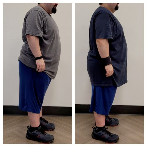 22lbs down - 2 month transformation