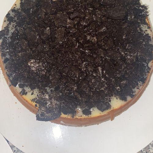 Oreo overload cheesecake